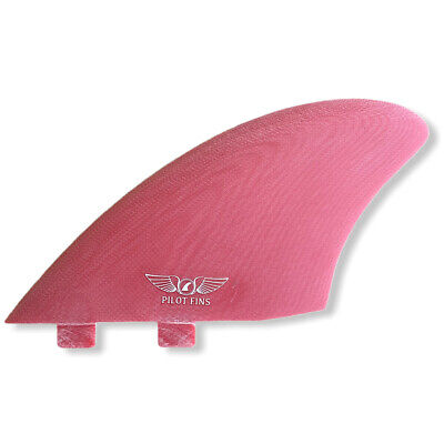 Futures - Red Keel Twin Fins Surf Pilot Fins New