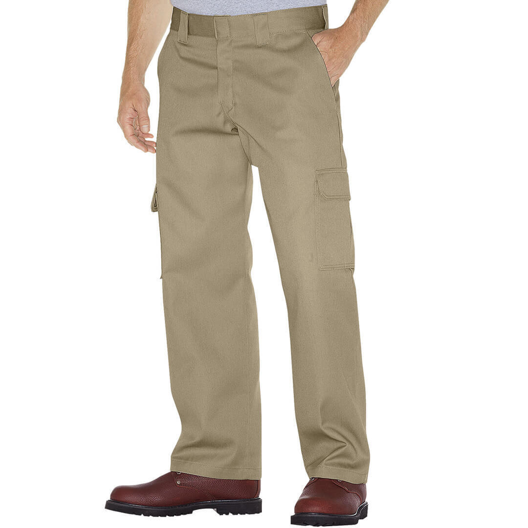 Dickies WP592 Men's Relaxed Fit Cargo Uniform Pants Straight Leg Workwear Clothing, Shoes & Accessories