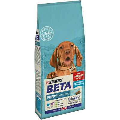 Beta puppy turkey + lamb 2 kg complete dog food - new imporved recipe