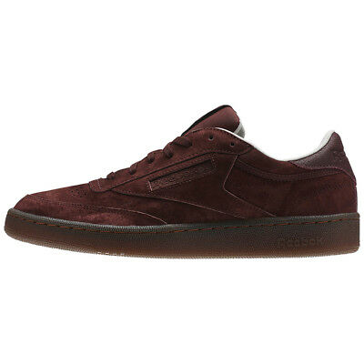 "Reebok ""Club C 85 G"" Shoes (Burnt Sienna/Sand Stone/Chalk/Gum) Men's Sneakers"