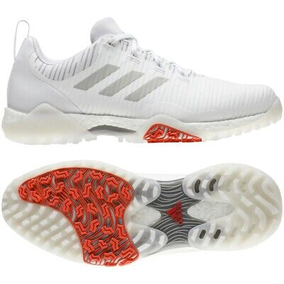 Adidas 2020 Code Chaos Golf Shoes - White EE9102 size UK 10 Medium - new in box