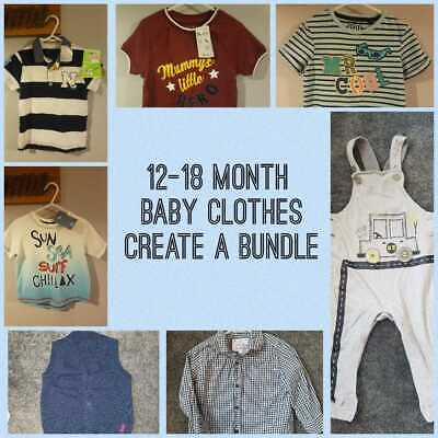 Baby Boy Clothes / Shoes/ T-Shirts/ Summer 12-18 Month Build a Bundle Listing