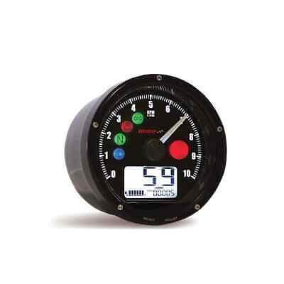 KOSO CRB Multifunction Gauge RPM, Speed, Warning Lights, Clock, inc speed sender