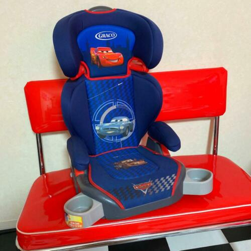 GRACO Junior Seat MaxiPlus Disney Cars From 3 Years Old Blue Seat From Japan NEW