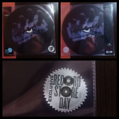 Judas Priest ‎- British Steel - 2 x Lp Vinilo Picture Disc...