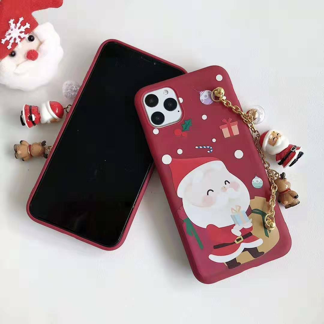Merry Christmas Santa Claus Holiday Red Case iPhone 11 Pro Max & iPhone X Xs XR Cases, Covers & Skins