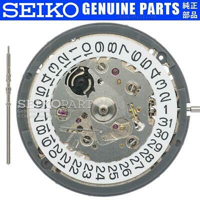 Seiko (SII) NH35 NH35A Automatic Watch Movement Date at 3 w/ White Date Disc