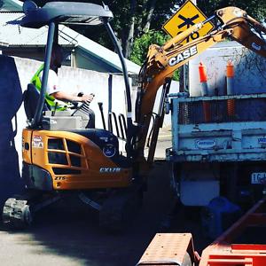 Excavator Hire $80 Hallam Casey Area Preview