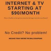 Tv and Internet At Amazing Prices!