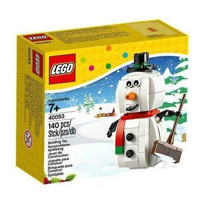 LEGO 40093 Seasonal Snow Man Snowman Retired set 2014 Christmas NIB New