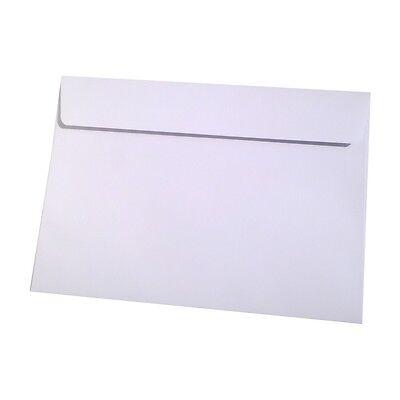 50 DIN C5 Briefumschläge Hochweiss 120g Olin Absolute White Regular Weiss HK