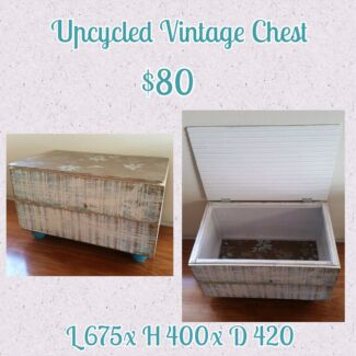 Upcycled Vintage Chest  Secret Harbour Rockingham Area Preview