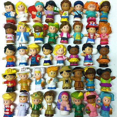 Fisher Price Little People - Random Lot 10pcs Figure Baby Boy Girl Preschool Toy