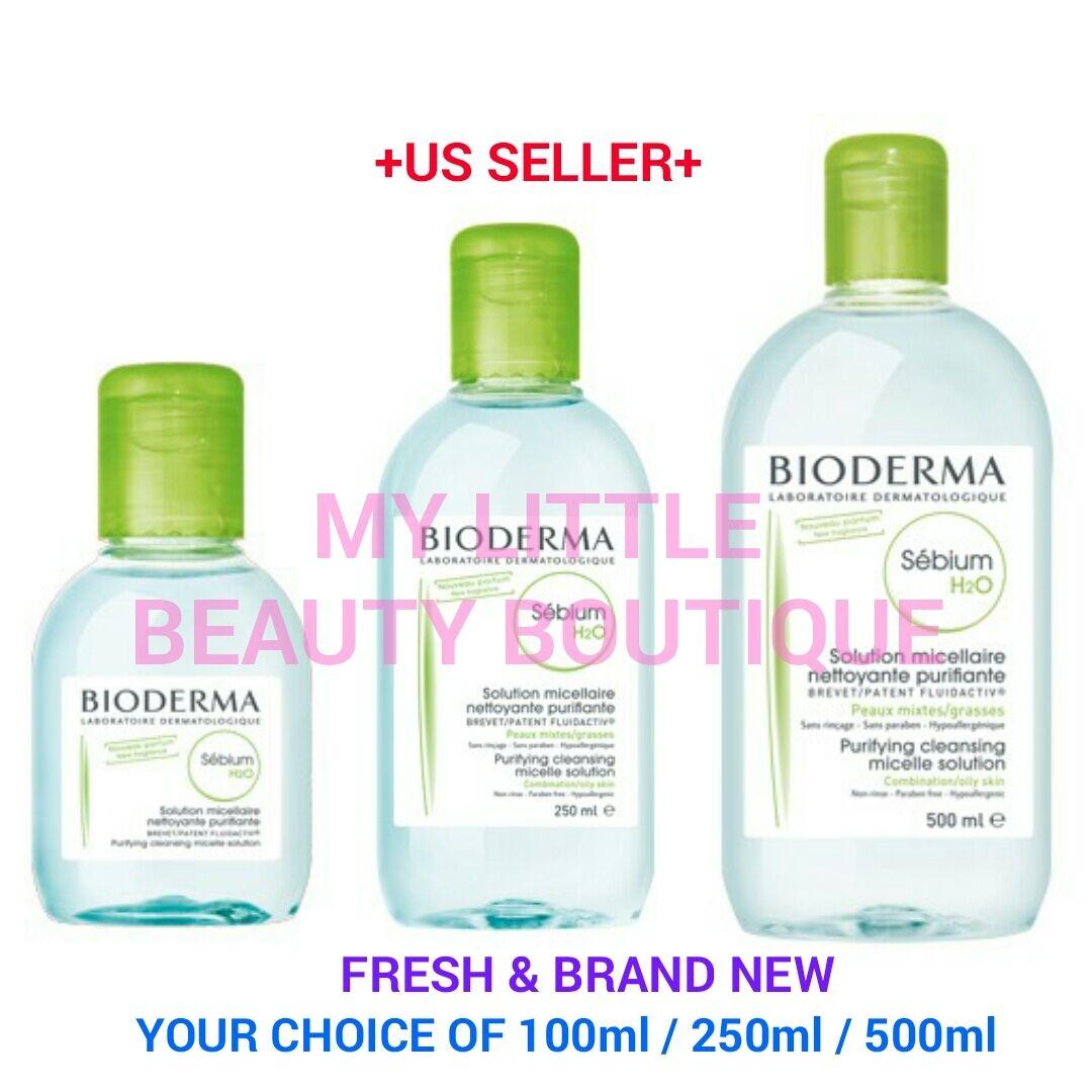 bioderma SEBIUM H2O Makeup & Cleansing Micellar Water Combin