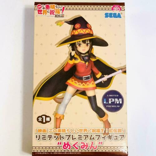 Anime official KonoSuba figure megumin SEGA in STOCK USA