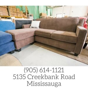 Clearance on Sofas and Sectionals