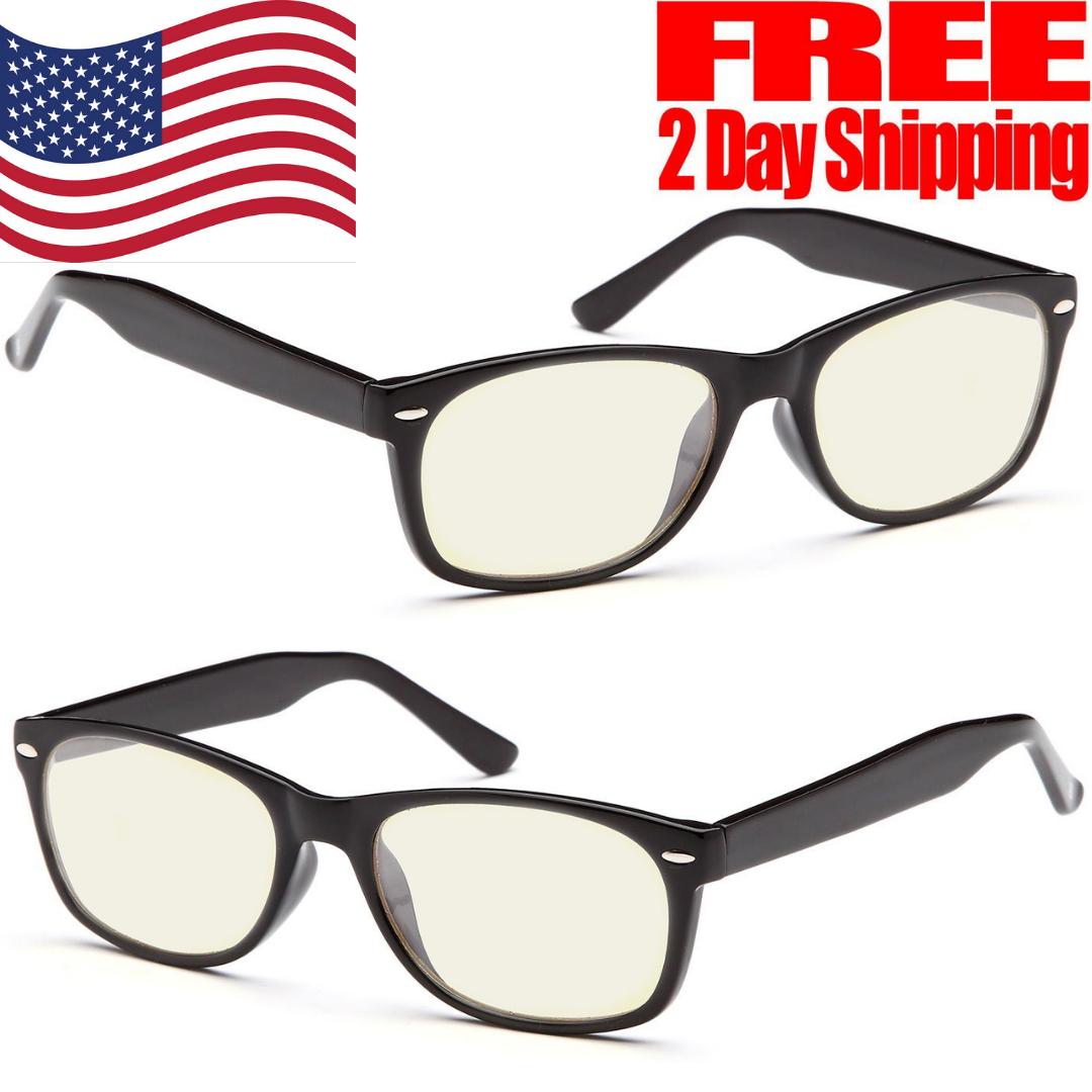 GAMMA RAY ESSENTIALS GR E-801-C1 Computer Glasses with UV Pr