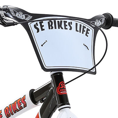 SE Racing 2018 SE Bikes Life Factory Number Plate Rad Plate, ONLY PLATE