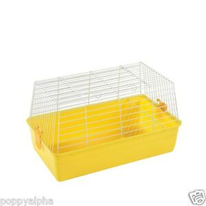 HAPPY-RABBIT-GUINEA-PIG-INDOOR-CAGE-HUTCH-RAINBOW-59-69-84cm-NEXT-DAY-DELIVERY