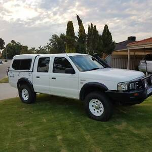 2006 Ford Courier Dual Cab 4x4 Ute Ballajura Swan Area Preview