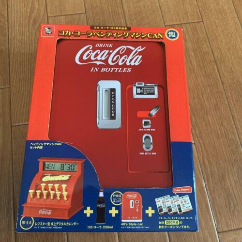 Coca-Cola 120th anniversary Coca Cola pending vending machine Can 40's style