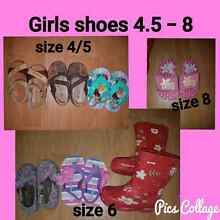 Girls toddler shoes Disney, Tom's, Airflex leather Singleton Rockingham Area Preview