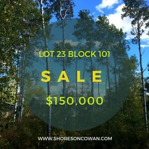 LAKEFRONT LOT **$150,000**