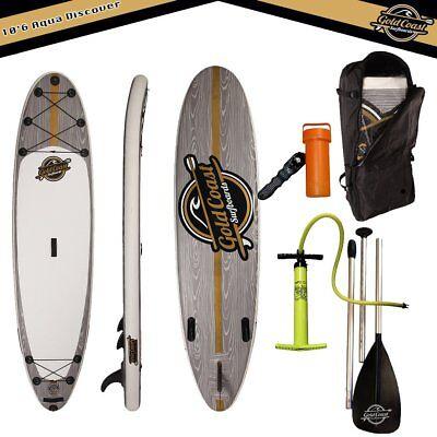 Gold Coast Inflatable Surfboards Aqua Discover 10'6″ iSUP