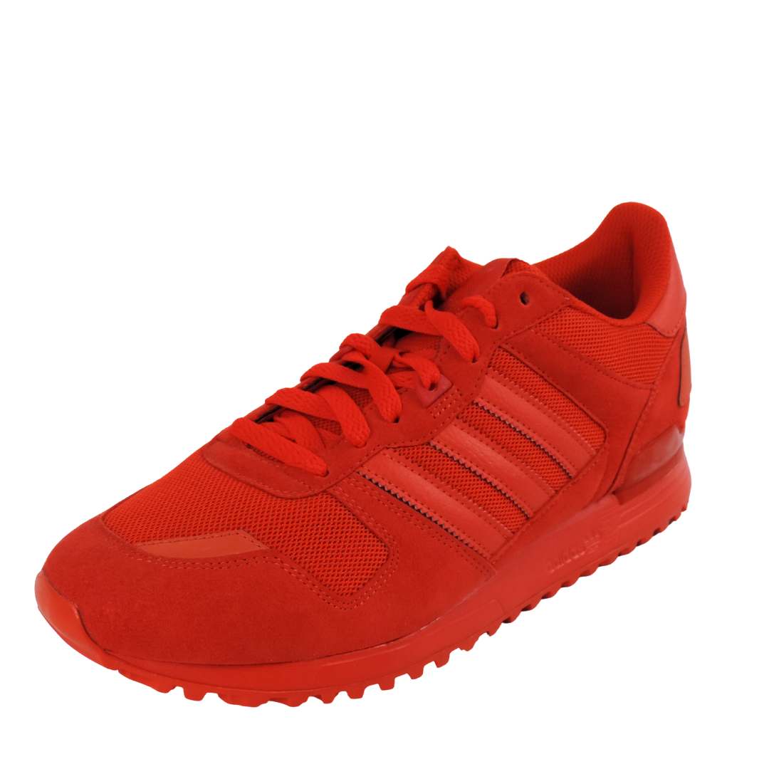 Adidas ZX 700 S79188 Mens Shoes Leather Sneakers Running Vintage Red Originals
