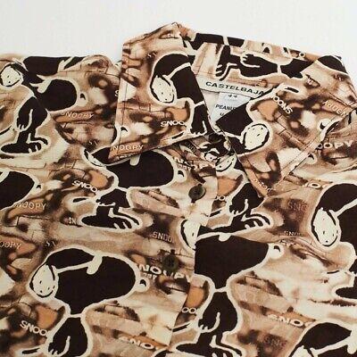 Vintage JC de Castelbajac Designer Snoopy Button Down Shirt sz 44