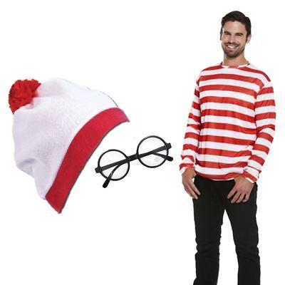 langärmlig rot weiß TOP, Hut & Gläser modisches (Weißes Top Hut Kostüm)