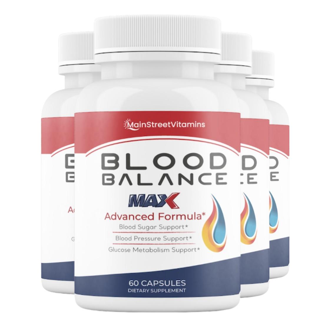 Blood Balance Advanced Formula - 240 Capsules - 4 Bottles