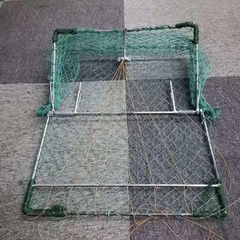 1pcs 34X34cm Bird net Humane Live traps sensitive quail Hunting supplies