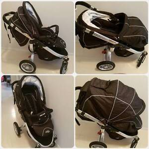 Valco Baby Rebel Q Air Pram *PRICE REDUCED* Cranbourne East Casey Area Preview