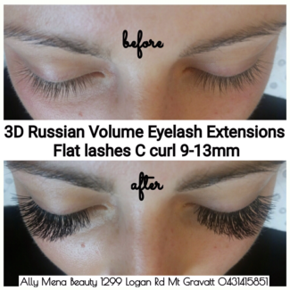 Eyelash Extensions Classic Individual, Hybrid and Russian Volume