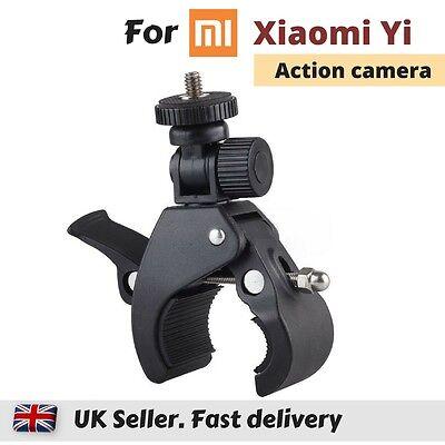 Bike Motorbike Handlebar Pole Mount Clamp for Xiaomi Yi 4K MiJia 360° Action Cam