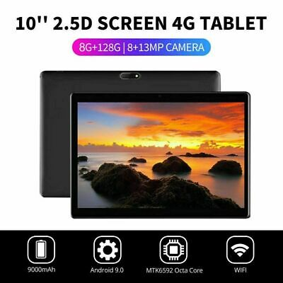 "10.1"" 4G-LTE Tablet Android 9.0 Pad 2.5D Screen 8+128GB Dual SIM GPS Phablet.."
