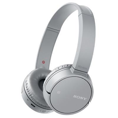 Sony WH-CH500 Bluetooth NFC Wireless On-Ear Headphones - Grey (751217)