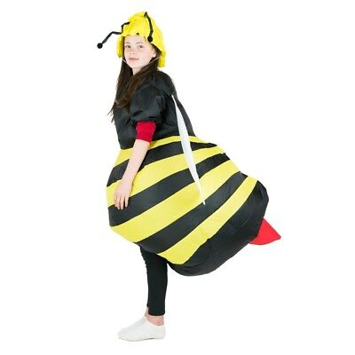 Fly Fancy Dress (Kids Inflatable Bumble Bee Insect Animal Fly Funny Halloween Fancy Dress)
