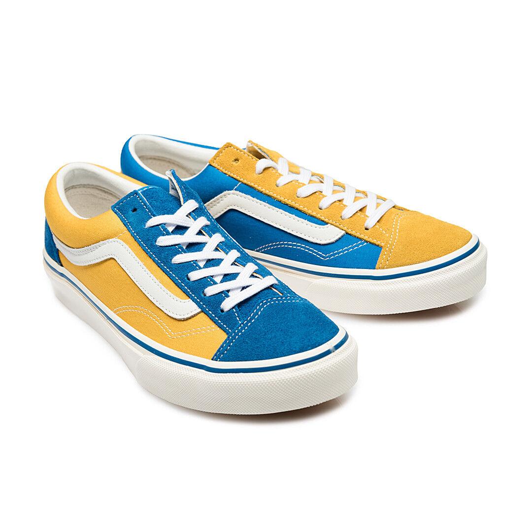 Détails : Vans Japan Line Old Skool V36OG BLGDMI Blue Yellow Gold Multi