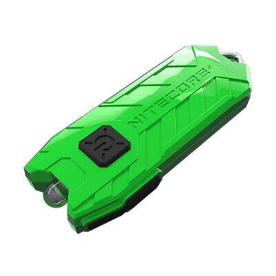 NITECORE TUBE V2.0 55 Lumen USB Rechargeable Keychain Flashlight (Green)