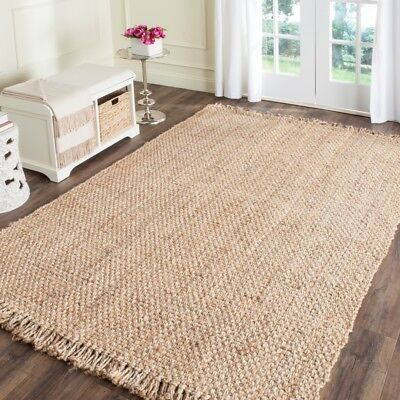 Safavieh Natural Fiber Jute NATURAL Area Rugs - NF467A