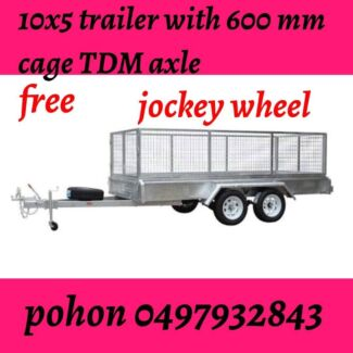 10x5 FULLY WELDED HOT GALVANISED TRAILER 2000 KG ATM Springvale Greater Dandenong Preview