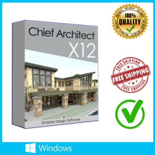 Chief Architect Premier X12 Lifetime License Fast Delivery For Windows