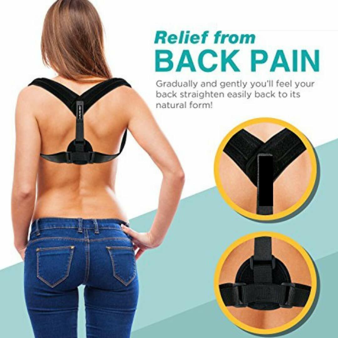 Adjustable Posture Corrector Back Shoulder Support Correct B