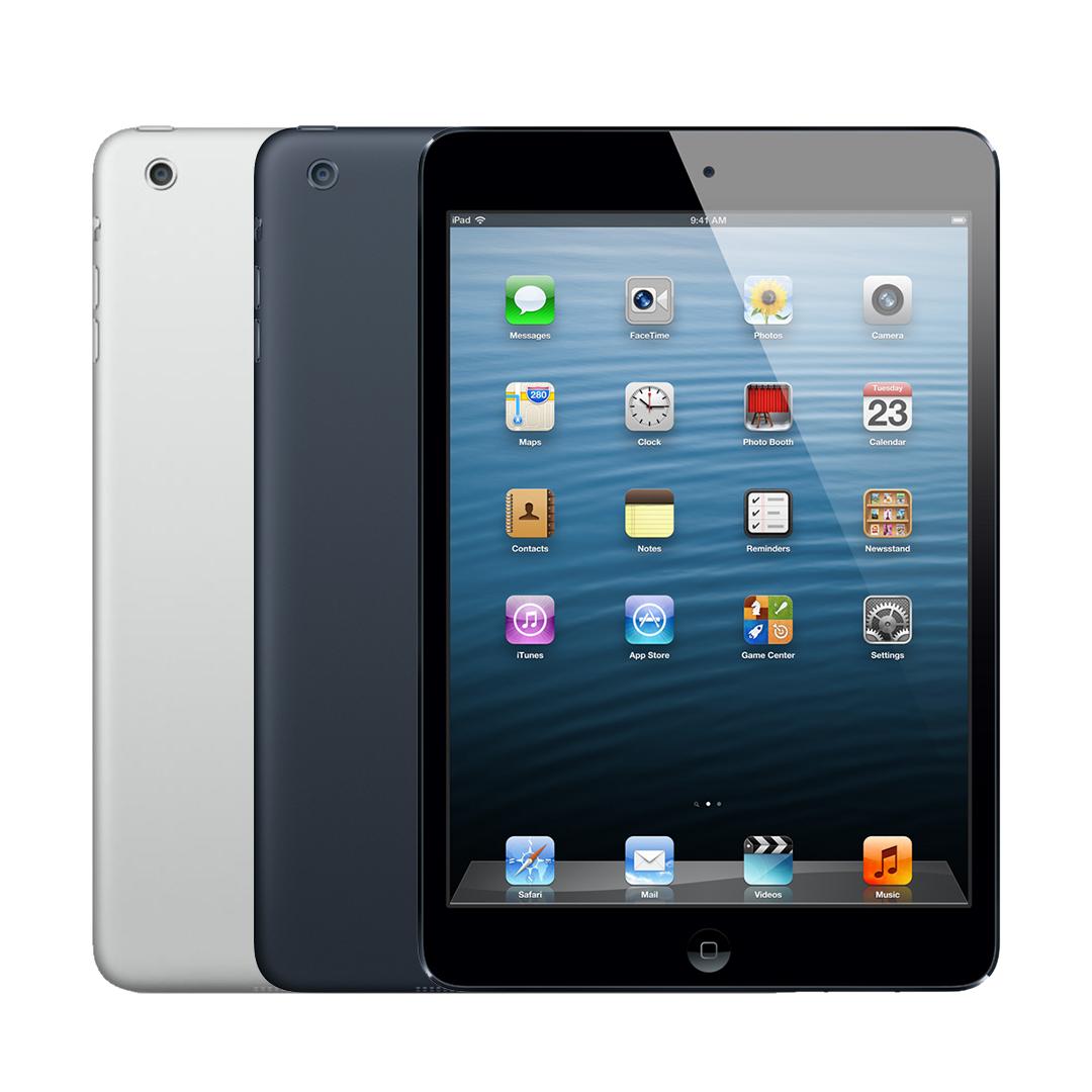 Ipad Mini - Apple iPad Mini 1 16GB Verizon GSM Unlocked Wi-Fi + Cellular - Black & Silver