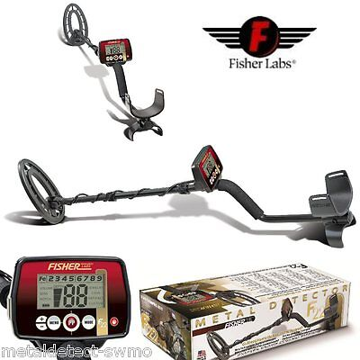 Fisher New F22 Weatherproof, Coin, Jewelry Metal Detector with 5 Year Warranty