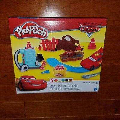 Disney Pixar Cars Play-Doh Set New Free Shipping