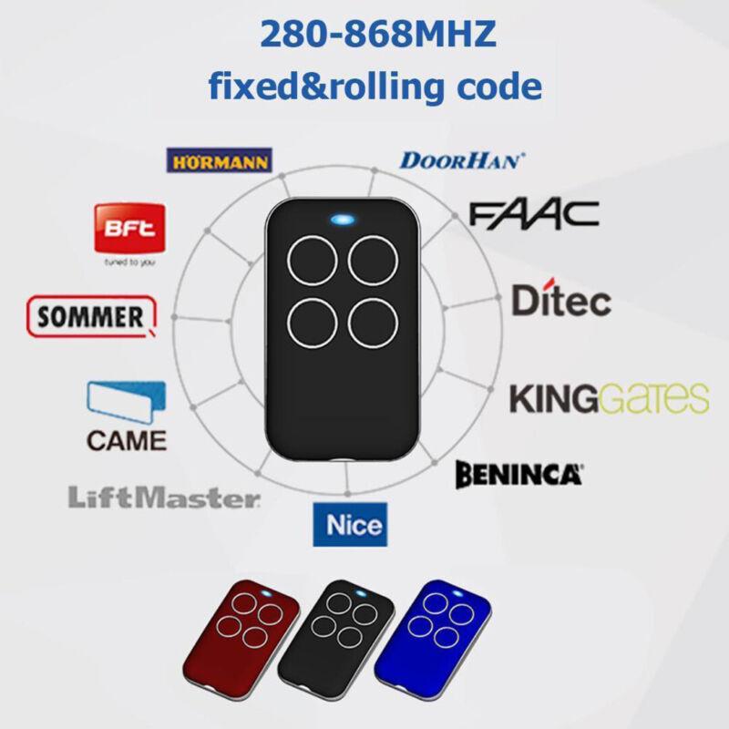 315/418/433/868MHZ Universal Garage Door Cloning Remote Cont