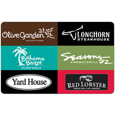 Buy a $50 Darden Gift Card get an additional $10 code ($60 value)  - Via Email